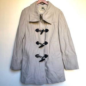 Burberry London Brit double breasted wool coat